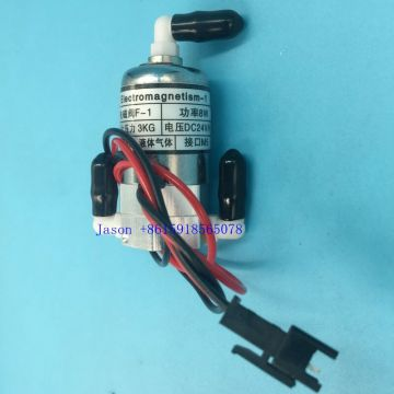 3 way solenoid valve 24V dc 8W for Infiniti Leopard Flora Wit color SPT 510 head solenoid valve