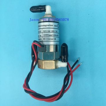 JYY  3 way solenoid valve for Challenger Allwin Phaeton Crystaljet Iconteck printer 5.5W (bend)