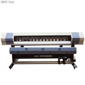 1.8m xp600 eco solvent printer for stickers