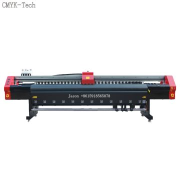 10ft 4pcs xp600 head printing machine for banner