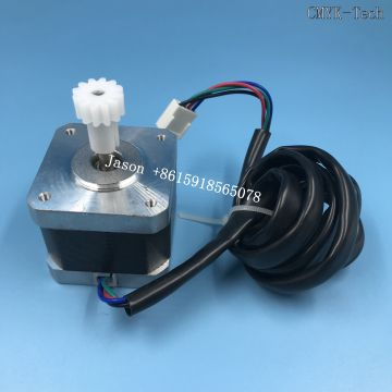 Small motor for capping stattion